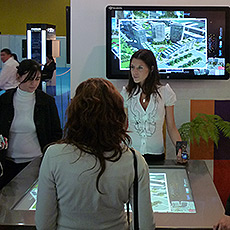 Zencity mesa tactil multitouch