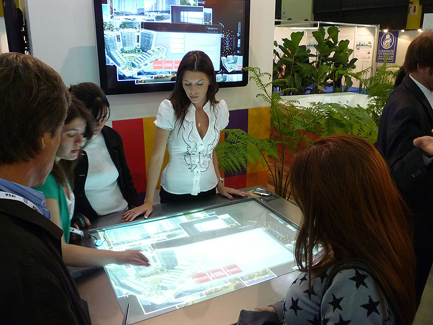 Zencity mesa tactil multitouch 1